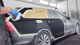 Download Painting a car with Standox Standoblue and extreme clearcoat Video