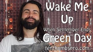 Download Wake Me Up When September Ends - Green Day - Ukulele Tutorial with tabs Video