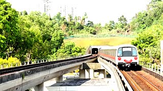 Download Sunny Metro Train Station in Singapore Video