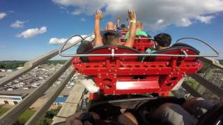 Download GOPRO Hades 360 Roller Coaster Mt. Olympus Wisconsin Dells Video