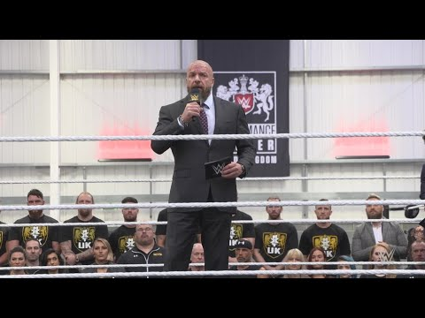 Triple H introduces the new UK Performance Center