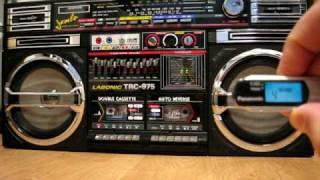 Download LASONIC TRC 975 Ghetto Blaster BOOMBOX OLDSCHOOL HIPHOP Video