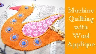 Download Facing My Fears: Machine Quilting A Wool Applique Quilt Video
