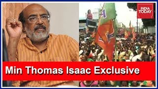 Download ″Sabarimala Row A Political Issue Hatched By BJP″: Kerala Fin Min Thomas Isaac Exclusive Video