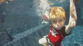 Download GoPro HD test Under Water Kids Swimming Funny faces Video