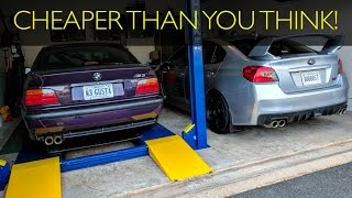 Download What does it COST to put a LIFT in YOUR GARAGE? Video