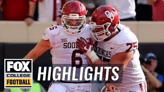 Download Oklahoma vs. Oklahoma State | Highlights | FOX COLLEGE FOOTBALL Video