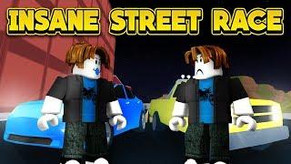 Download INSANE STREET RACE! (ROBLOX Jailbreak New Player Challenge) Video