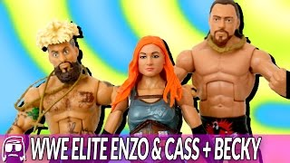 Download WWE Elite 49 Enzo Amore, Big Cass & Becky Lynch Toy Unboxing & Review!! Video