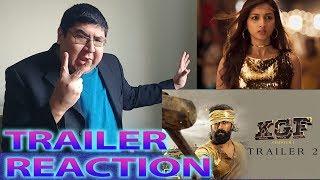 Download #KGF   Yash   Srinidhi Shetty   Kannada   Trailer 2 English Reaction Video