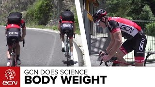 Download How Much Does Body Weight Affect Climbing Speed? GCN Does Science Video