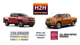Download Head2Head #33 All New Nissan NAVARA vs Chevrolet COLORADO Video