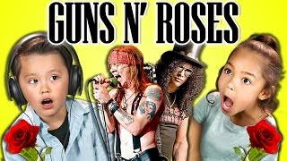 Download KIDS REACT TO GUNS N' ROSES Video