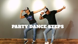 Download PARTY DANCE STEPS | BASIC AND EASY STEPS | WEDDING DANCE TUTORIAL | Video