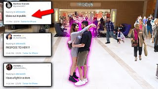 Download WE LET YOU GUYS CONTROL OUR LIFE! EX-COUPLE CHALLENGE! Video