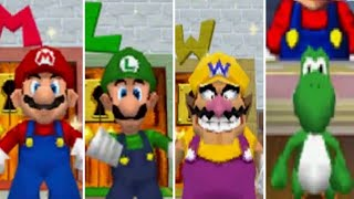 Download Super Mario 64 DS - All Characters Video
