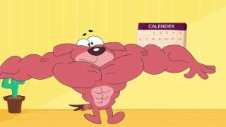 Download Rat-A-Tat | Chotoonz Kids Cartoon Videos-''Body Builder Don' Video