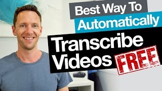 Download Transcription: Best Free Way to Automatically Transcribe Video (Audio to Text) Video