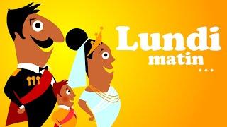 Download LUNDI MATIN L EMPEREUR SA FEMME ET LE PETIT PRINCE comptine bébé & comptine pour maternelle Video