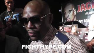 Download FLOYD MAYWEATHER INSISTS KEITH THURMAN IS DUCKING ERROL SPENCE; TALKS THURMAN-GARCIA & KELL BROOK Video