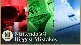 Download Nintendo's 3 Biggest Mistakes - Gaming Historian Video