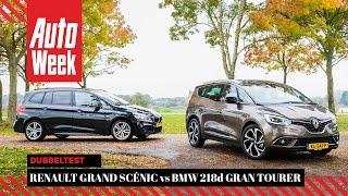 Download Renault Grand Scénic vs BMW 2-serie Gran Tourer - AutoWeek Dubbeltest Video
