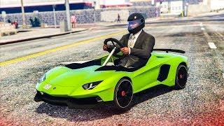 Download EPIC LAMBORGHINI GO KART MOD! - (GTA 5 Mods) Video