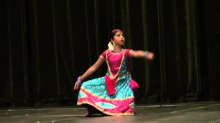 Download Avantika Vandanapu at Star Dancer at 2014 ATA Convention (Chandamama Okati) Video