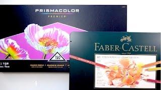 Download Prismacolor vs Faber-Castell Polychromos | Pencil Comparison Video