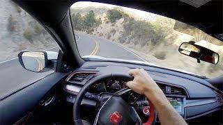 Download 2017 Honda Civic Type R - POV Canyon Drive (Binaural Audio) Video