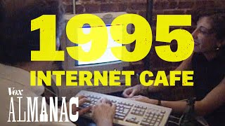 Download The hippest internet cafe of 1995 Video