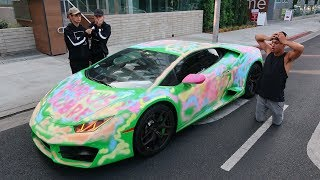 Download WE CAN'T BELIEVE WE DID THIS TO HIS LAMBORGHINI.. Video