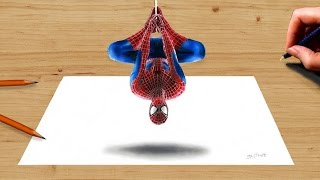 Download 3D Colored Pencil Drawing: the Amazing Spider-Man 2 - Speed Draw | Jasmina Susak Video