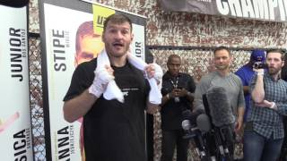 Download Stipe Miocic Schools Ariel Helwani Video