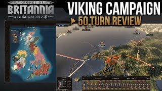 Download Total War Saga: Thrones of Britannia - Viking Campaign (50 Turns Review) Video
