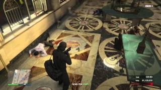 Download Gta 5 online pacific standard job Kurdish talking Video