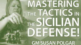 Download Master 👉 The Typical Tactics in The Sicilian Defense 🤔 - GM Susan Polgar Video