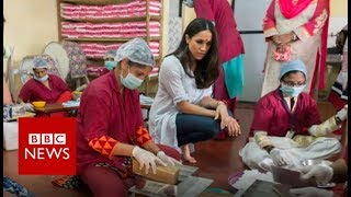 Download The Indian sanitary pad workers going to the royal wedding - BBC News Video