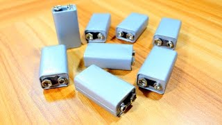Download 3 useful things can be made with 9v battery - life hacks Video