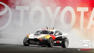 Download Ken Gushi Drifting a 870 HP 2JZ Toyota 86 at Sonoma during NASCAR Video