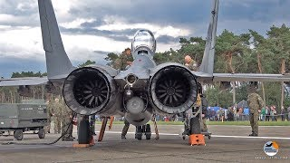 Download MiG-29 start-up to shut down | Polish Air Force | Kleine Brogel Air Base Video