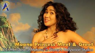 Download Moana meet and greet at Hollywood Studios Video