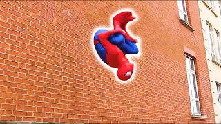Download SPIDERMAN Fights Crime in Real Life | Parkour, Flips & Kicks Video