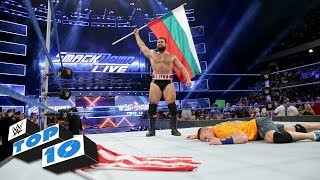 Download Top 10 SmackDown LIVE moments: WWE Top 10, July 18, 2017 Video