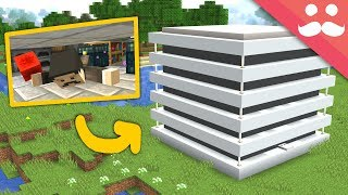 Download Multi-Story CRAWLING PISTON HOUSE: Minecraft 1.14! Video