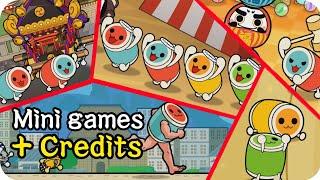 Download All Mini Games + English Credits【Taiko no Tatsujin Switch Ver.】 Video