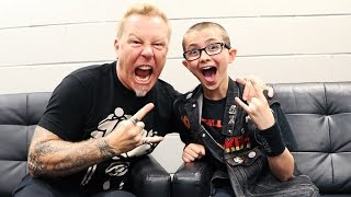 Download JAMES HETFIELD of METALLICA talks being nervous, farts, family, missing Cliff Burton Video