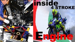 Download VIDEO INSiDE the 4 STROKE Motorcycle ENGINE Video