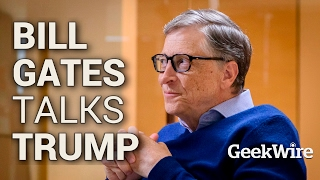 Download Bill Gates Talks Trump Video