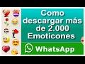 Download EMOTICONES para WHATSAPP [100% Gratis] Video